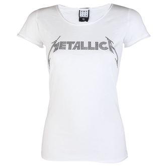 metál póló női Metallica - CLASSIC LOGO WHITE - AMPLIFIED - AV601MLB