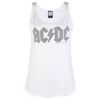 AC / DC női felső  - CLASSIC LOGO WHITE - AMPLIFIED, AMPLIFIED, AC-DC