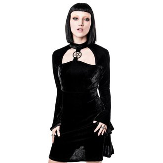 KILLSTAR női ruha - Ziva Velvet, KILLSTAR