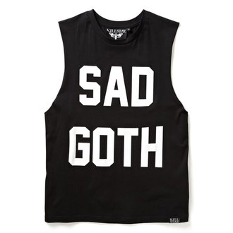 KILLSTAR unisex (egynemű) top - Sad Goth