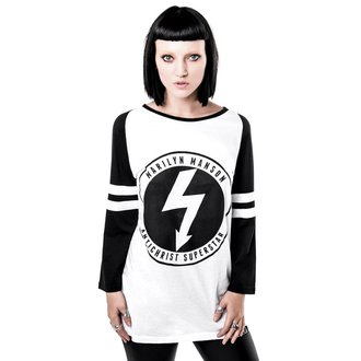 tričko s 3/4 rukávem (unisex) KILLSTAR x MARILYN MANSON - Wormboy, KILLSTAR, Marilyn Manson