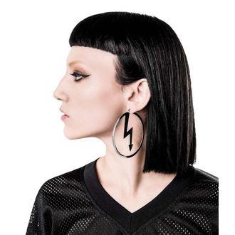 KILLSTAR x MARILYN MANSON fülbevaló - Number 7 - Silver, KILLSTAR, Marilyn Manson