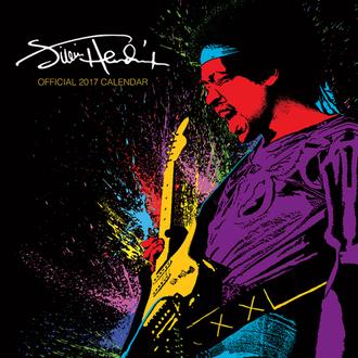 2017-es falinaptár Jimi Hendrix, PYRAMID POSTERS, Jimi Hendrix