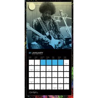 2017-es falinaptár Jimi Hendrix