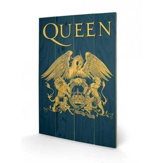 fa kép Queen - Crest, PYRAMID POSTERS, Queen