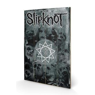 fa kép Slipknot - Pentagram, PYRAMID POSTERS, Slipknot