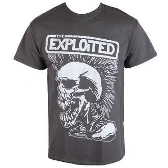 metál póló férfi Exploited - VINTAGE SKULL - RAZAMATAZ, RAZAMATAZ, Exploited