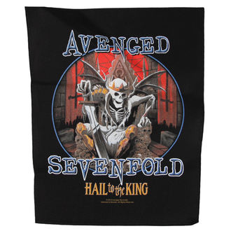 Avenged Sevenfold felvarró - HAIL TO THE KING - RAZAMATAZ, RAZAMATAZ, Avenged Sevenfold