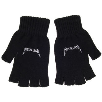 Metallica kesztyű - LOGO - RAZAMATAZ, RAZAMATAZ, Metallica