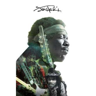 Jimi Hendrix poszter - Double Exposure, PYRAMID POSTERS, Jimi Hendrix