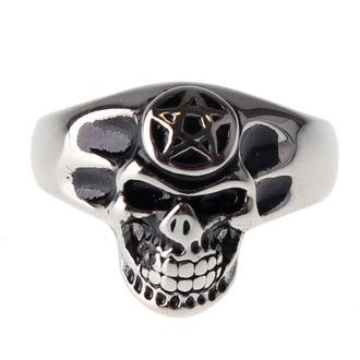 ETNOX gyűrű - Pentagram Skull, ETNOX
