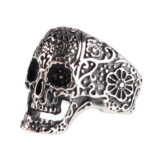 ETNOX gyűrű - Ornament Skull, ETNOX