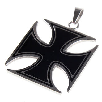ETNOX nyaklánc - Black Iron Cross, ETNOX