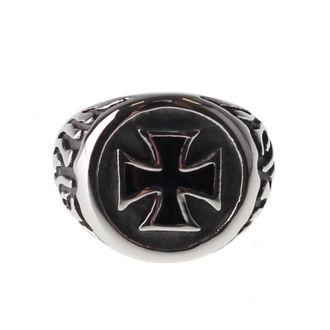 ETNOX gyűrű - Black Iron Cross, ETNOX