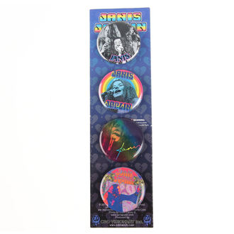 Janis Joplin kitűzpk- B-5917-S, C&D VISIONARY, Janis Joplin
