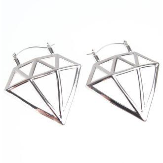 Fülbevaló INOX - 20G DIAMOND, INOX
