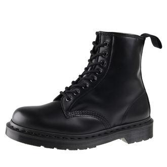 boty Dr. Martens 8 dírkové - DM 1460 MONO BLACK SMOOTH