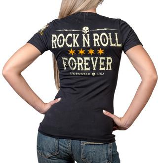 hardcore póló női - Rock N Roll Forever - WORNSTAR, WORNSTAR