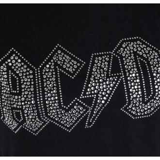 metál póló női AC-DC - Logo - ROCK OFF, ROCK OFF, AC-DC