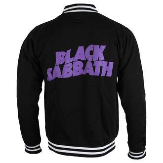 pulóver (kapucni nélkül) férfi Black Sabbath - Wavy Logo - ROCK OFF, ROCK OFF, Black Sabbath