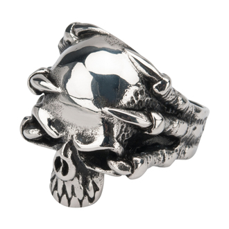 INOX gyűrű - SKULL, INOX