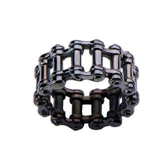 INOX gyűrű - MOTO CHAIN BLACK, INOX