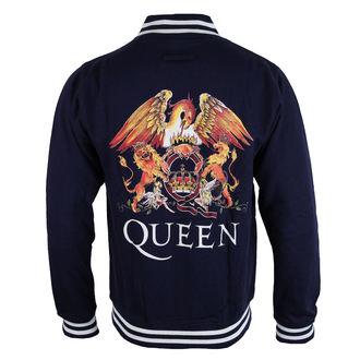 pulóver (kapucni nélkül) férfi Queen - Crest - ROCK OFF, ROCK OFF, Queen