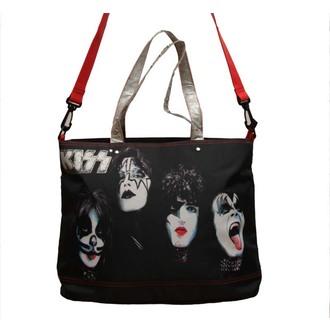 KISS táska (kézitáska) - Painted Faces of Rock n Roll, Kiss