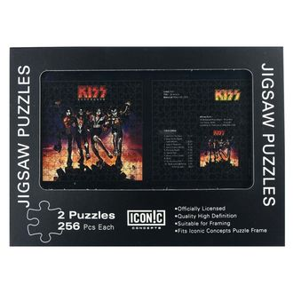 KISS puzzle - Destroyer, Kiss