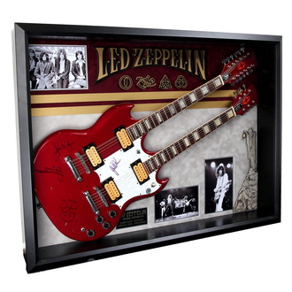 Led Zeppelin gitár autogrammal  - ANTIQUITIES CALIFORNIA, ANTIQUITIES CALIFORNIA, Led Zeppelin