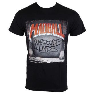 tričko pánské Madball - Hardcore Lives - black - BUCKANEER, Buckaneer, Madball