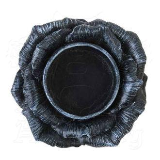 ALCHEMY GOTHIC dekoráció (gyertyatartó) - Black Rose, ALCHEMY GOTHIC