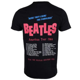 metál póló férfi Beatles - American Tour 1964 - ROCK OFF, ROCK OFF, Beatles