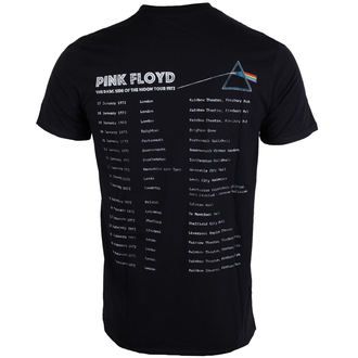 metál póló férfi Pink Floyd - Dark Side of the Moon 1972 Tour - ROCK OFF, ROCK OFF, Pink Floyd