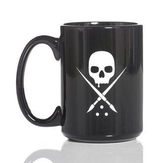 SULLEN bögre- BADGE COFFEE - FEKETE / FEHÉR, SULLEN