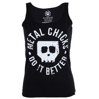 METAL CHICKS DO IT BETTER női felső - Skull, METAL CHICKS DO IT BETTER