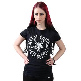 hardcore póló női - Pentagram - METAL CHICKS DO IT BETTER, METAL CHICKS DO IT BETTER
