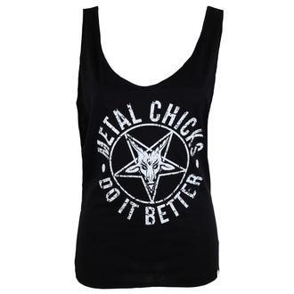 METAL CHICKS DO IT BETTER női felső - Pentagram, METAL CHICKS DO IT BETTER