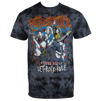 tričko pánské Aerosmith - Group Shield - BAILEY, BAILEY, Aerosmith