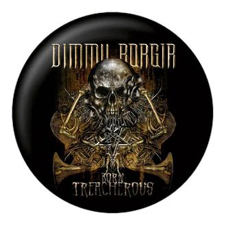 DIMMU BORGIR kitűző - Born treacherous - NUCLEAR BLAST, NUCLEAR BLAST, Dimmu Borgir