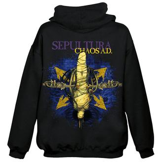 kapucnis pulóver férfi Sepultura - Chaos A.D. - NUCLEAR BLAST, NUCLEAR BLAST, Sepultura