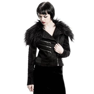 tavaszi/őszi dzseki női - Selene Fur Biker - KILLSTAR