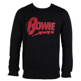 pulóver (kapucni nélkül) férfi David Bowie - NAME LOGO - AMPLIFIED, AMPLIFIED, David Bowie