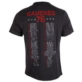 metál póló férfi Ramones - Charcoal - AMPLIFIED, AMPLIFIED, Ramones