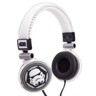 Star Wars fejhallgató - Storm Trooper - WHT, NNM