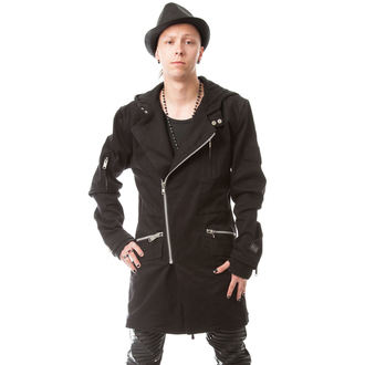 VIXXSIN férfi kabát - Crossroad - Fekete, VIXXSIN