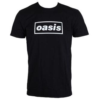 metál póló férfi Oasis - Black Logo - LIVE NATION, LIVE NATION, Oasis