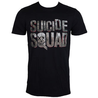 filmes póló férfi Suicide Squad - Logo - LIVE NATION, LIVE NATION