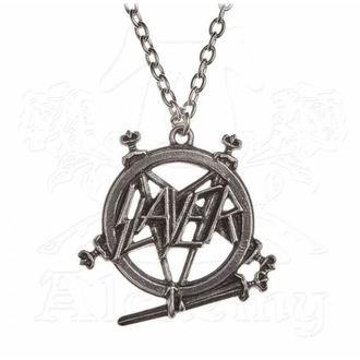 Slayer nyaklánc - ALCHEMY GOTHIC - Pentagram, ALCHEMY GOTHIC, Slayer