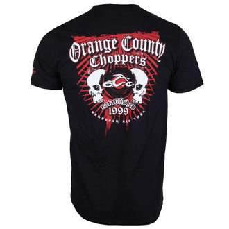 póló férfi - Two Skulls - ORANGE COUNTY CHOPPERS, ORANGE COUNTY CHOPPERS